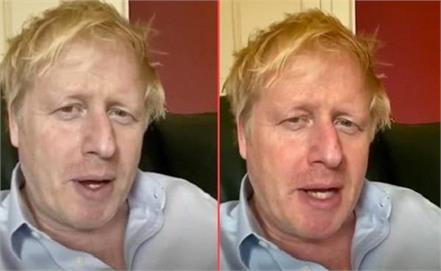british pm boris working from hospital mp said not try to be churchill