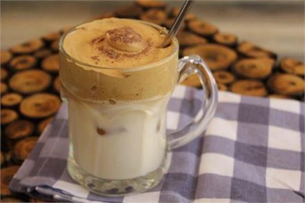 dalgona coffee going viral on social media amid lockdown