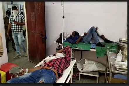 haryana news hisar police did encounter in bahadurgarh