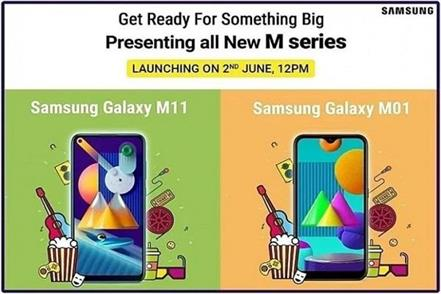 samsung galaxy m01 galaxy m11 to launch in india in a week