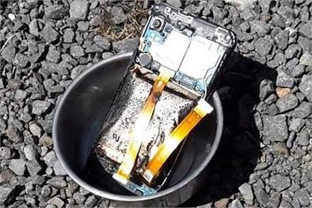 samsung user shares pictures of his galaxy a20e after it burst into flames