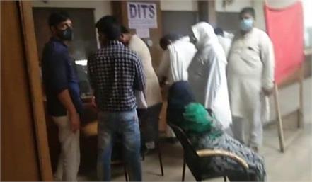 at night registries are being held in tehsil