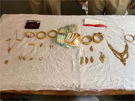 police arrested 3 accused for stealing jewelry from homes