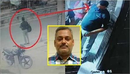 once again news of vikas dubey hiding in faridabad seen in cctv footage