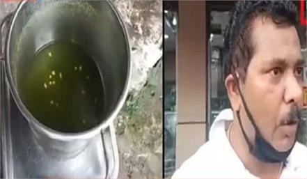 on feeding golgappa fierce commotion video viral
