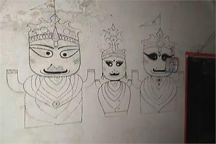 laddu gopal and balarama who disappeared from temple before janmashtami