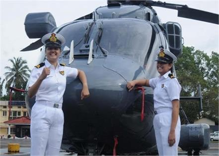 in first time 2 women officers to be posted on indian navy warship