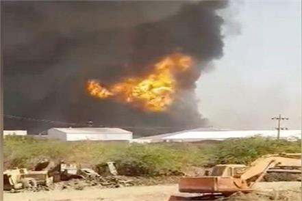terrible explosion during refilling at indian air gas company