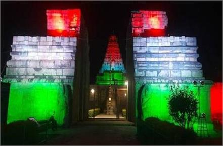 100 monuments to be illuminated in tricolor on crossing 100 crore doses