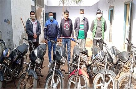 addictive and hobby of riding bike made a thief stole 10 motorcycles in a year