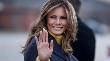 first lady melania trump bids farewell says  violence will never be justified