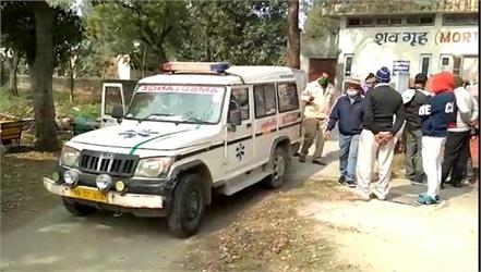 in jhajjar the dead body of a youth found in a dirty drain
