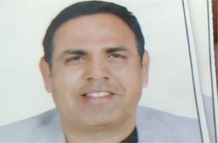dead body of a man running school in kaithal found in yamunanagar