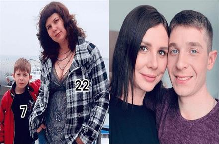 russian blogger marries stepson before giving birth undergoes surgery for him