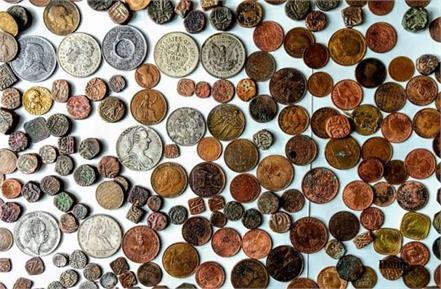 up exhibition of rare ancient coins including kauri ana became center