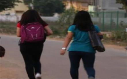 two schoolgirls missing in mathura