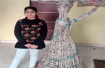 big work done at a young age manvi gautam named in india book of records