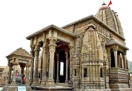 shiva temple baijnath closed again due to corona outbreak