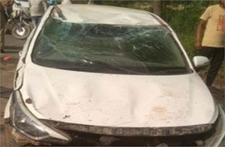 high speed car crushed 3 people painful death on the spot