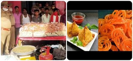up panchayat election 2 kuntal jalebi and samosa 10 including claimants