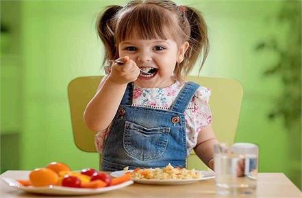 best food combination for children