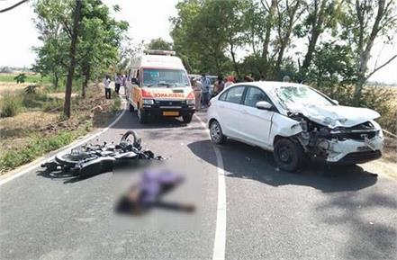 road accident father and son died on the spot