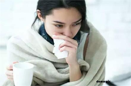 people are afraid of cough due to cold in the changing season
