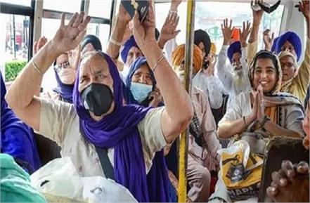100 people of sikh devotees returned from pak positive