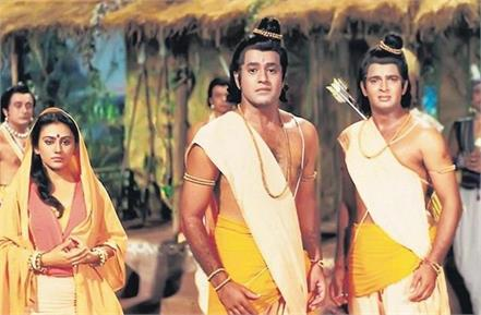 tv sita says i am very happy with the return of ramayana