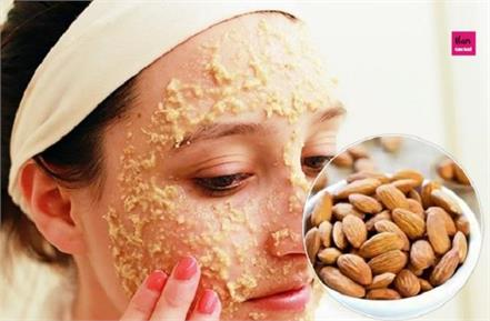 diy almond face pack for glowing skin