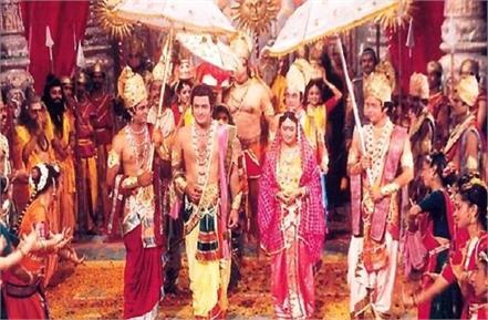 popular ramayan serial returns on tv