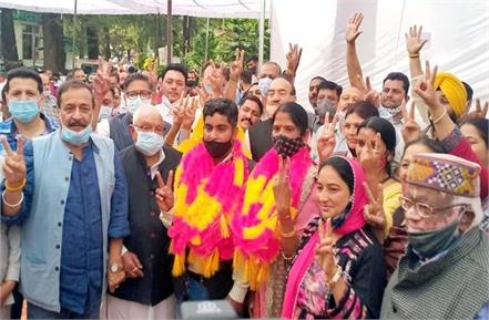 poonam bali becomes mayor of palampur municipal corporation