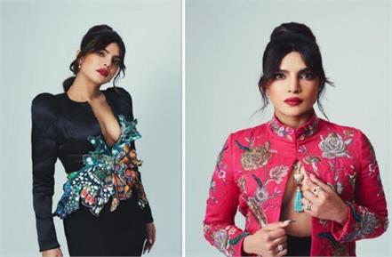 priyanka chopra hot pink embroidered jacket price