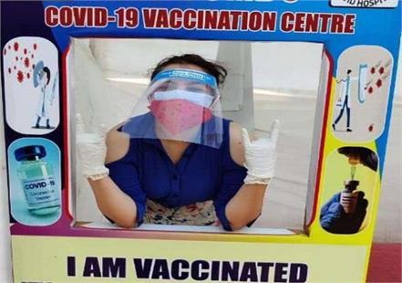 maanvi gagroo got corona vaccine