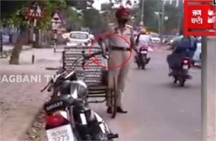 viral video constable