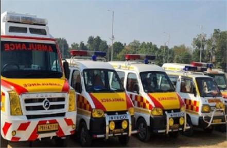 chandigarh administration fixed the rent of private ambulance