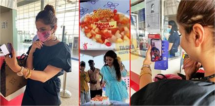 rubina dilaik celebrate long distance wedding anniversary with abhinav shukla