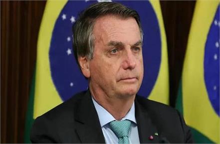brazil president jair bolsonaro fined for maskless motorcyle rally