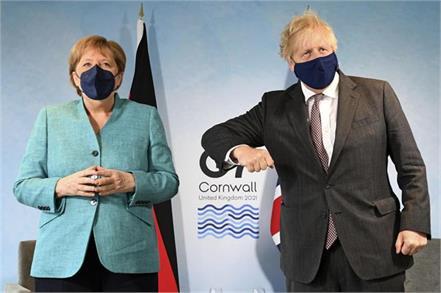 brexit dispute between uk eu over northern ireland clouds g7 summit