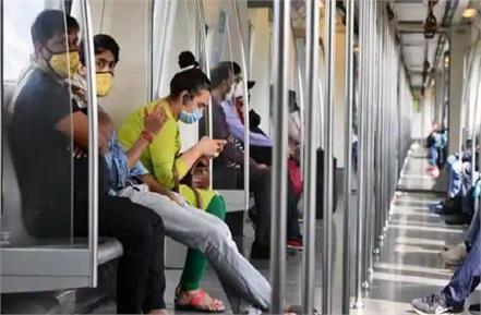 minor delay due to mild tremors in delhi metro service