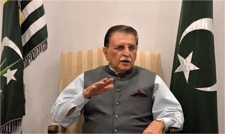 pok pm raja haider threatens sit in against imran khan meddling in polls