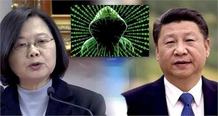 amid china s military pressure taiwan prepares for cyber war