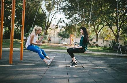 know the health benefits of swinging