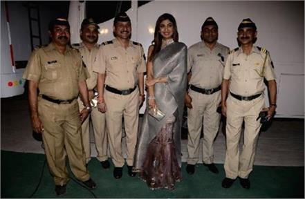 shilpa shetty mumbai police instagram post