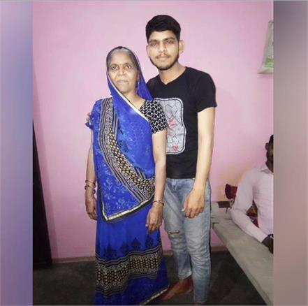 traumatic road accident motorcycle riding mother son dies