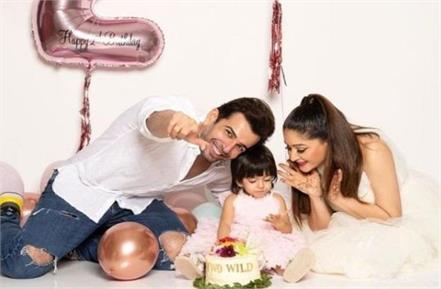 mahhi vij and jay bhanushali celebrate her daughter tara birthday
