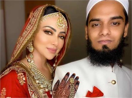 bigg boss fame sana khan marriage with anas sayiad