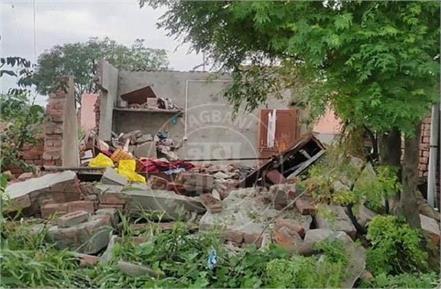 2 children died in blast