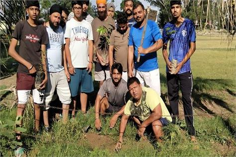 tanda united sports club came forward to protect the environment