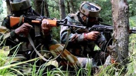 encounter between security forces and terrorists in nowgam  srinagar
